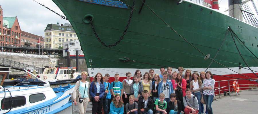 W Hamburgu mogli podziwiać jeden z największych portów w Europie