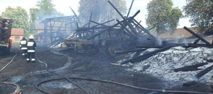 Straty w obu pożarach oszacowano na ok. 2 mln zł