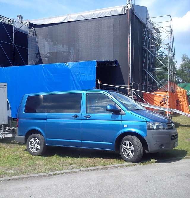 W Olsztynie skradziono bus zespołu Enej! - full image