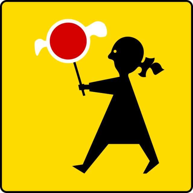Czy przy szkołach są odpowiednie znaki? - full image