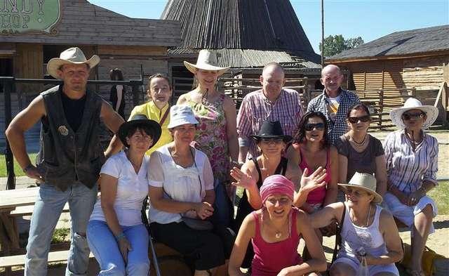 Uczestnicy warsztatów w Grzybowie - full image