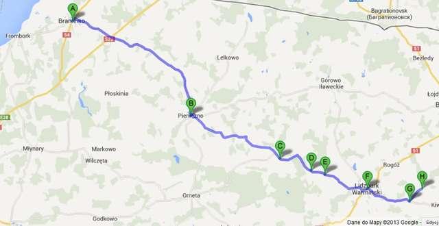Z Braniewa do Stoczka Klasztornego szlakiem kościołów i sanktuariów - full image