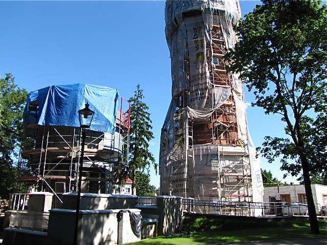 Wkrótce piska wieża ciśnień pokaże się z odnowionym obliczem - full image