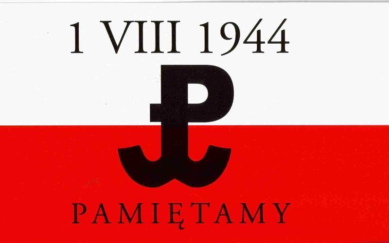 Znalezione obrazy dla zapytania rocznica powstania warszawskiego