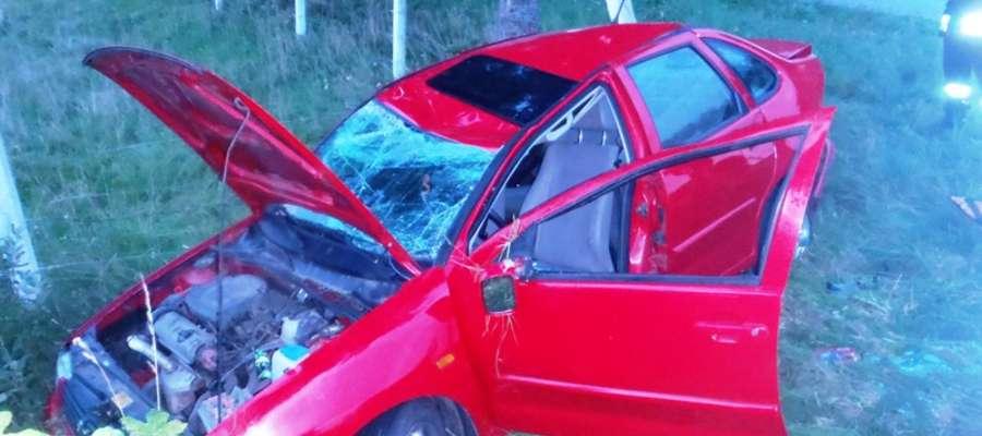 Do zderzenia doszło na skrzyżowaniu w pobliżu Piotrowca (gm. Pieniężno)