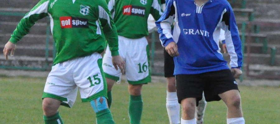 Piotr Melchinkiewicz miał zagrać w Borucie, a zagra we Wkrze Żuromin
