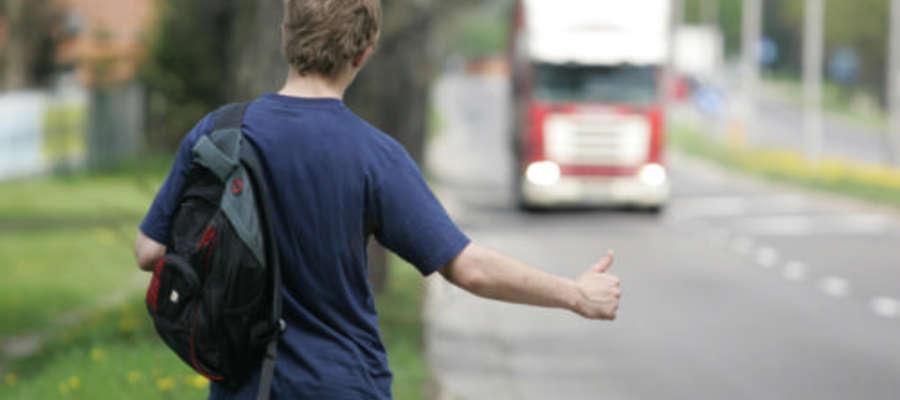 Czy zabierasz autostopowiczów?