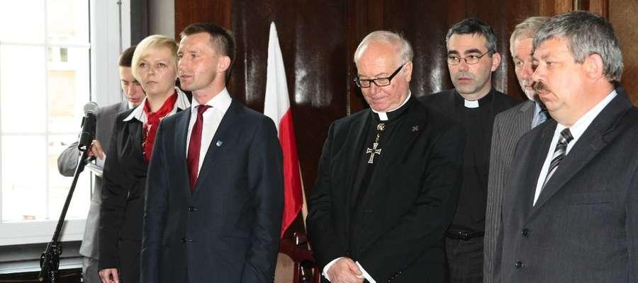 To nie pierwsza wizyta Bruno Plattera na Warmii i Mazurach. Wielki Mistrz Zakonu Krzyżackiego, odwiedził Ełk