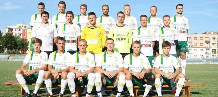 Tak prezentuje się ekipa Płomienia Ełk przed nowym sezonem 2013/14
