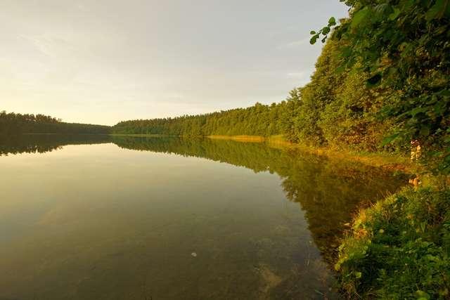 Jezioro Jegocin - podobno najpiękniejsze na Mazurach - full image