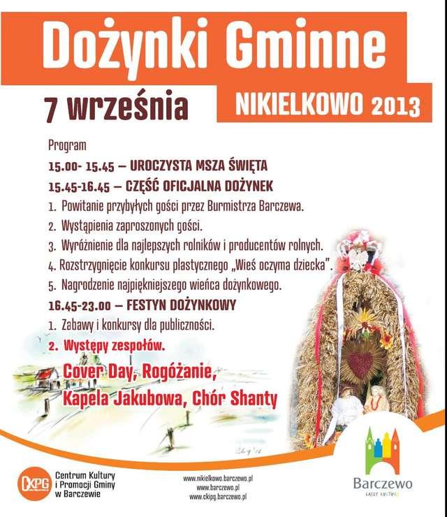 Dożynki gminne w Nikielkowie - full image