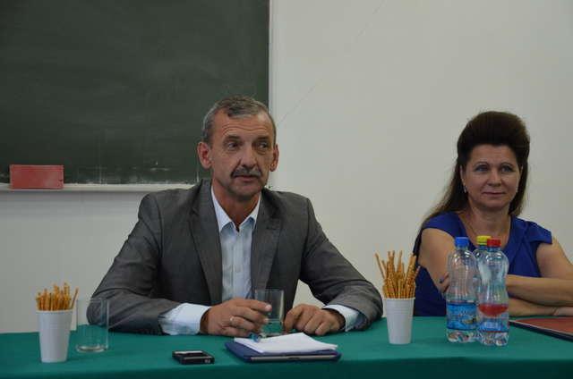 Spotkanie z prezesem ZNP - Sławomirem Broniarzem  - full image