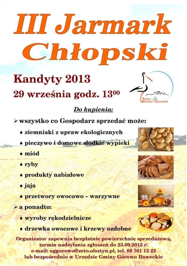 Jarmark Chłopski W Kandytach - full image
