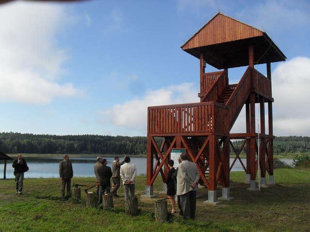 Wieża widokowa stanęła pod Olsztynem - full image