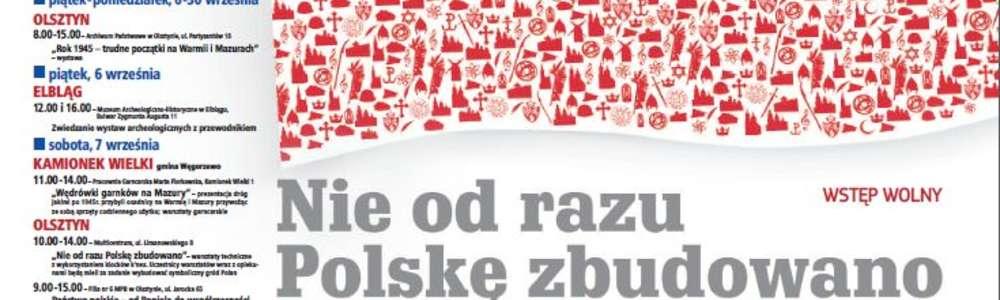 Europejskie Dni Dziedzictwa na Warmii i Mazurach
