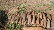 Kętrzyn: Zabezpieczyli 43 pociski artyleryjskie