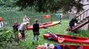 Kajakiem po Kanale Mazurskim - tego jeszcze nie było