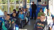 Uczniowie z Rumienicy na wyspie i w schronisku