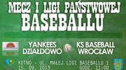 Yankeesi Działdowo zagrają z KS Baseball Wrocław