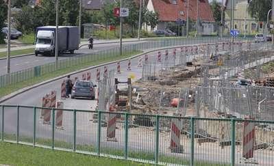 Tramwaje w Olsztynie. Utrudnienia na Tuwima i Iwaszkiewicza