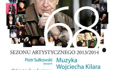 Inauguracja sezonu w Filharmonii. Na początek Kilar