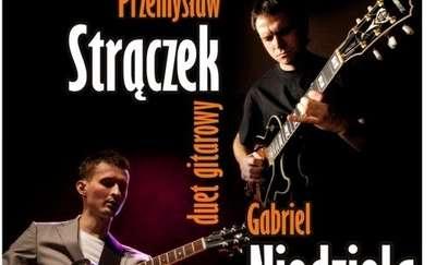 Muzyczne Inhalacje: duet gitarowy Przemek Strączek & Gabriel Niedziela