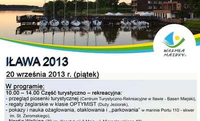 Obchody Światowego Dnia Turystyki odbędą się w Iławie