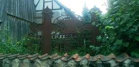 Cmentarz przykościelny w Mańkach