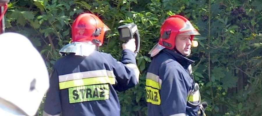 Lubawscy ochotnicy użyli kamerę termowizyjną