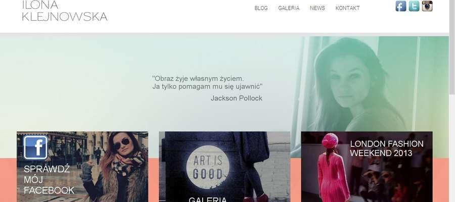Blog Ilony Klejnowskiej z każdym dniem staje się bardziej popularny