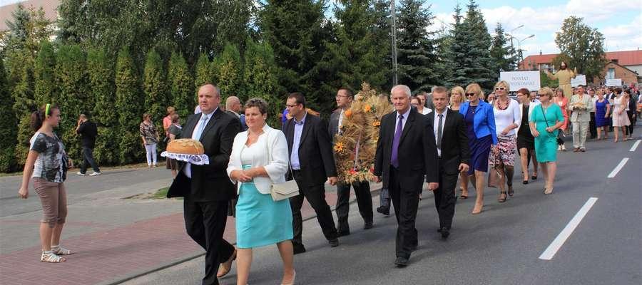 Państwo Kurkiewiczowie przewodzą żuromińskiej delegacji