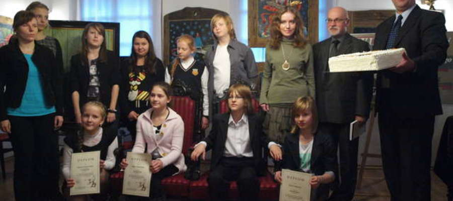 Laureaci ubiegłorocznego konkursu poezji