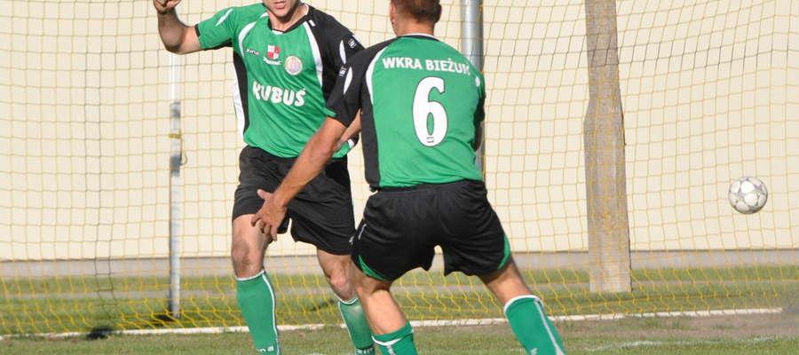 Michał Dzięgielewski mógł cieszyć się z dwóch bramek