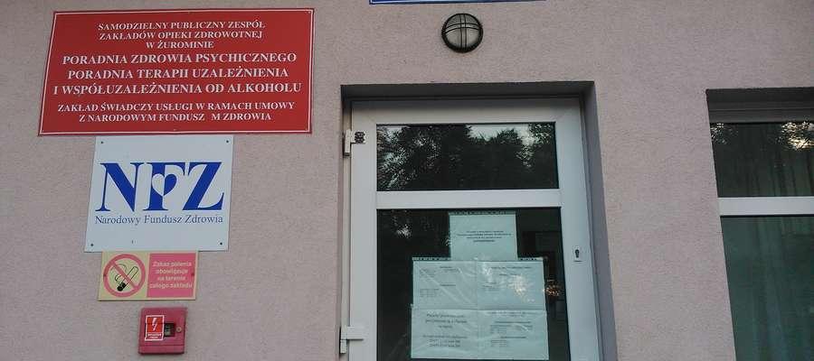 Przy wejściu do poradni widnieje informacja, że Clonazepamu lekarze nie przepisują