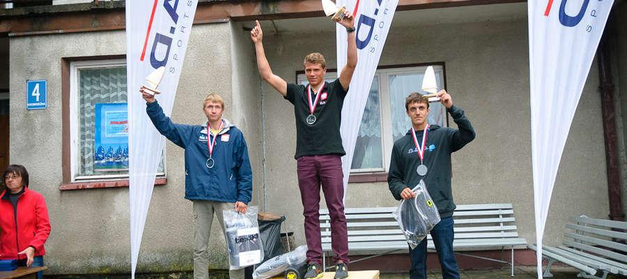 Arkadiusz Brzozowski zdobył srebro podczas Młodzieżowych Mistrzostw Polski RSX