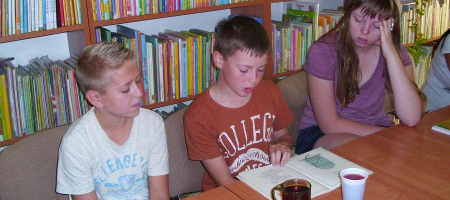 Dzieci chętnie włączyły się do czytania