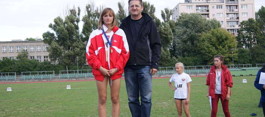 W konkurencji skoku wzwyż dziewcząt 12-letnich Polskę reprezentowała Patrycja Steć