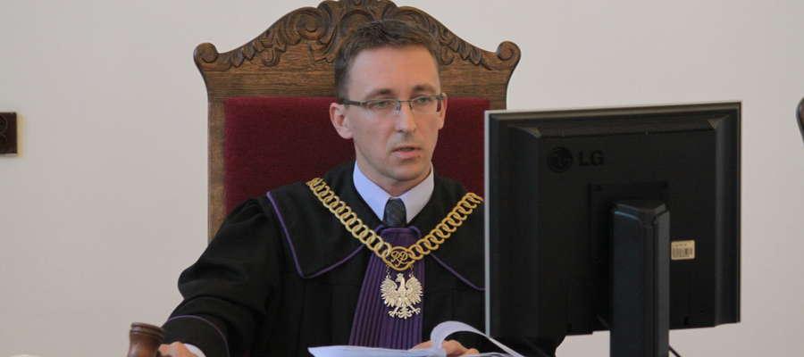 Sędzia Robert Kłosowski musiał odroczyć rozprawę do 10 października