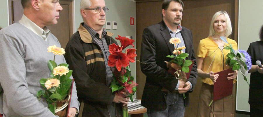 Zdobywcy nagrody głównej oraz wyróżnieni autorzy w kategorii Elbląski Rękopis Roku