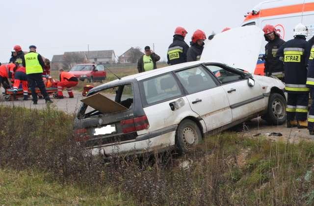 Śmiertelny wypadek na trasie Borawskie-Plewki - full image