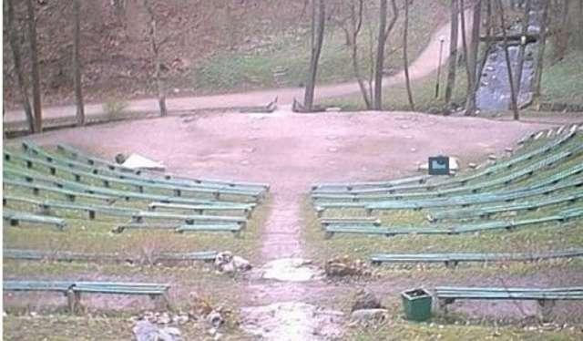 Amfiteatr w Parku Miejskim w Reszlu - full image