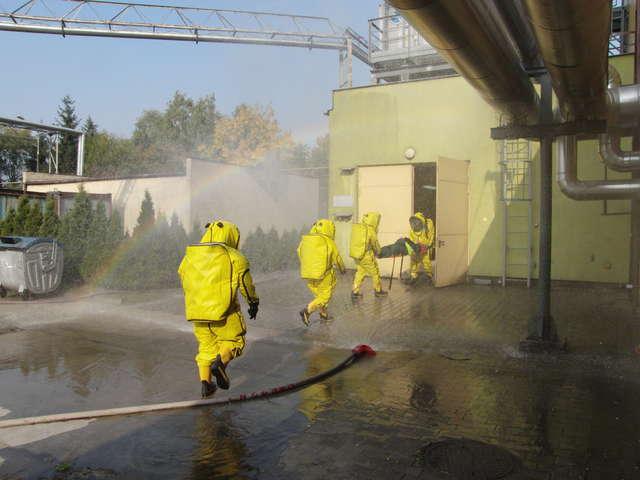 Akcja ratownicza w browarze - full image