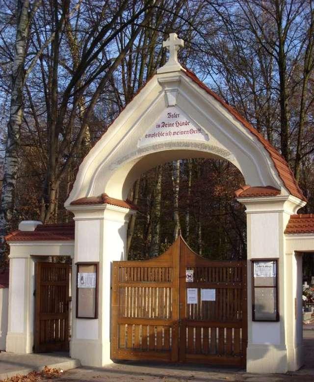 Lidzbark Warmiński: dawny Cmentarz Leśny - full image