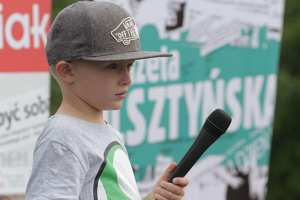Najmłodszy raper w kraju, nakręci teledysk do Moje przedszkole