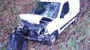 Dwie osoby ranne w wypadku koło Plut