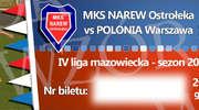 Piłka nożna: Mecz Narwi z Polonią bez kibiców z Warszawy