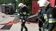 Gminne manewry OSP w Nosarzewie. Ewakuowali szkołę i ugasili pożar