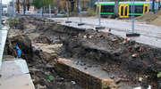 Archeolodzy ustąpili już miejsca robotnikom na drodze 503