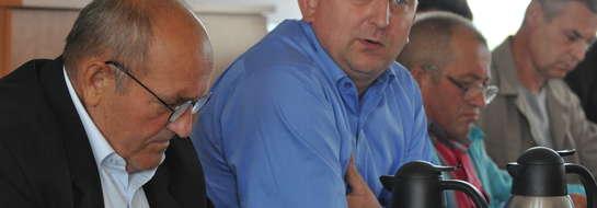 Mariusz Czarnomski przekonywał, że w Sadłowie powinno być boisko