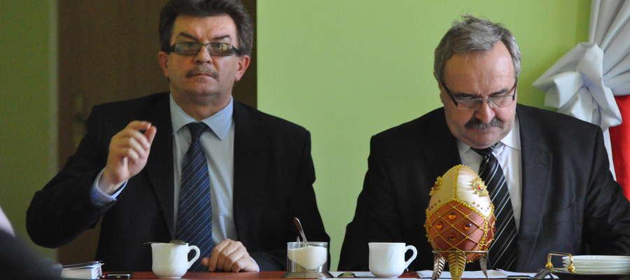 – Mamy w planach naprawdę ciekawe inwestycje – zapowiada wójt Tadeusz Burakowski